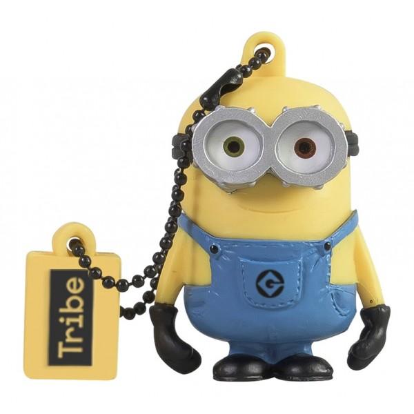 Tribe - Bob - Minions - Cattivissimo Me - Chiavetta di Memoria USB 16 GB - Pendrive - Archiviazione Dati - Flash Drive