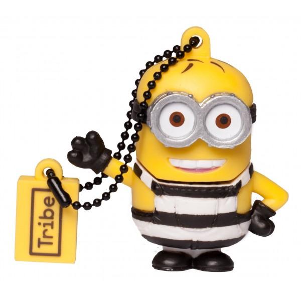 Tribe - Phil - Minions - Cattivissimo Me - Chiavetta di Memoria USB 8 GB - Pendrive - Archiviazione Dati - Flash Drive