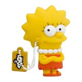 Tribe - Lisa - The Simpsons - Chiavetta di Memoria USB 8 GB - Pendrive - Archiviazione Dati - Flash Drive