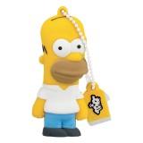 Tribe - Homer - The Simpsons - Chiavetta di Memoria USB 8 GB - Pendrive - Archiviazione Dati - Flash Drive