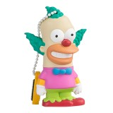 Tribe - Krusty il Clown - The Simpsons - Chiavetta di Memoria USB 8 GB - Pendrive - Archiviazione Dati - Flash Drive