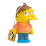 Tribe - Barney - The Simpsons - Chiavetta di Memoria USB 8 GB - Pendrive - Archiviazione Dati - Flash Drive