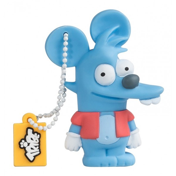 Tribe - Itchy - The Simpsons - Chiavetta di Memoria USB 8 GB - Pendrive - Archiviazione Dati - Flash Drive