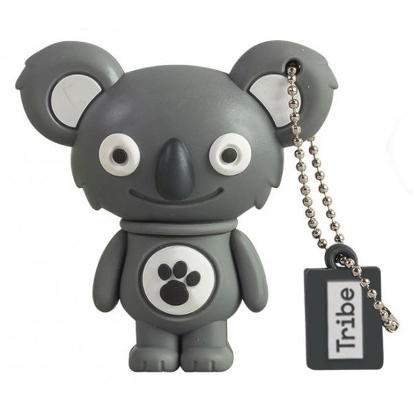 Tribe - Sanne il Koala - The Originals - Chiavetta di Memoria USB 8 GB - Pendrive - Archiviazione Dati - Flash Drive