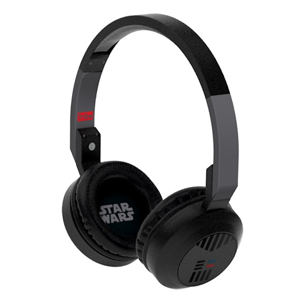 Tribe - Darth Vader - Star Wars - Episodio VII - Headphones with Foldable Microphone - 3.5 mm Jack - Smartphone, PC, PS4, Xbox