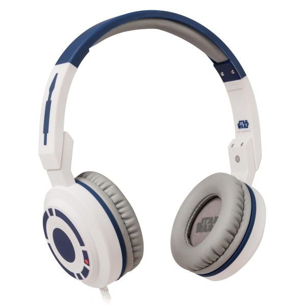 Tribe - R2-D2 - Star Wars - Episodio VII - Headphones with Foldable Microphone - 3.5 mm Jack - Smartphone, PC, PS4 and Xbox