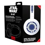 Tribe - R2-D2 - Star Wars - Episodio VII - Cuffie con Microfono Pieghevoli - Jack 3,5 mm - Smartphone, PC, PS4 e Xbox