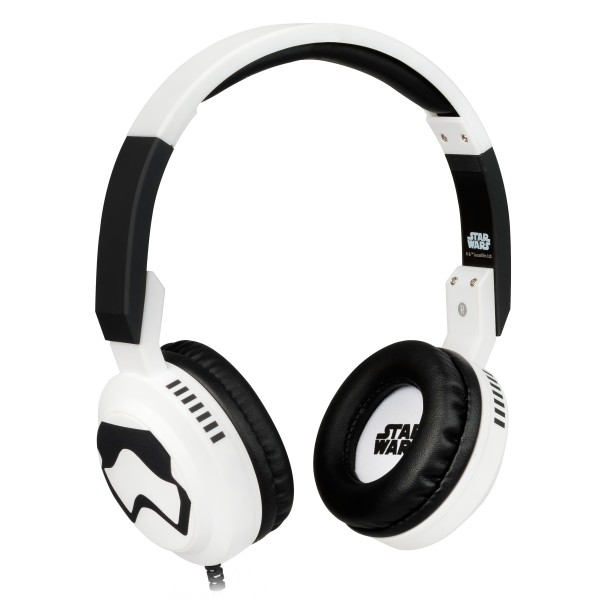 Tribe - Stormtrooper - Star Wars - Episodio VII - Headphones with Foldable Microphone - 3.5 mm Jack - Smartphone, PC, PS4, Xbox