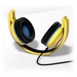 Tribe - Carl - Minions - Cuffie con Microfono Pieghevoli - Jack 3,5 mm - Smartphone, PC, PS4 e Xbox