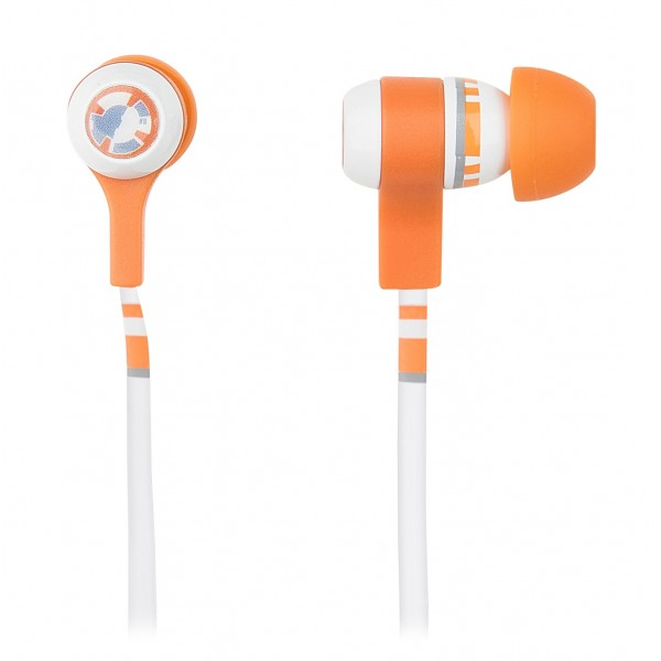 Tribe - BB-8 - Star Wars - Episode VII - Earphones with Microphone and Multifunctional Command - Smartphone