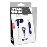 Tribe - R2-D2 - Star Wars - Auricolari con Microfono e Comando Multifunzionale - Smartphone