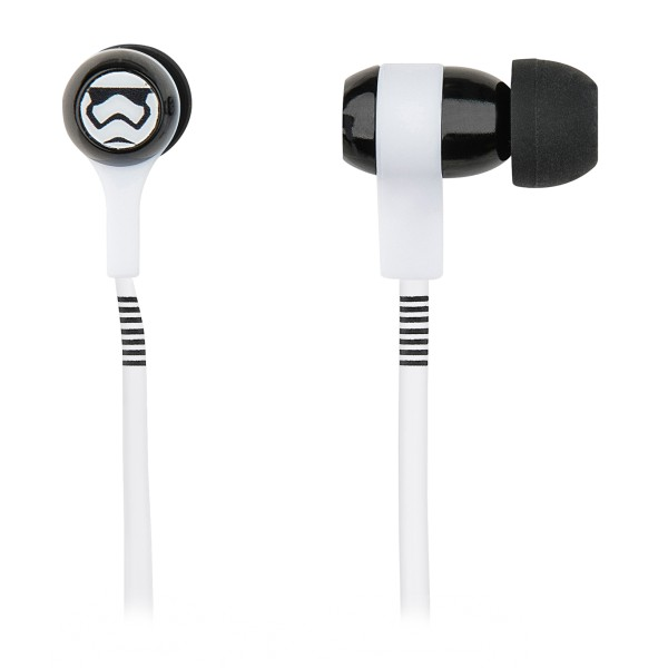 Tribe - Storm Troopers - Star Wars - Earphones with Microphone and Multifunctional Command - Smartphone