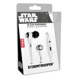 Tribe - Storm Troopers - Star Wars - Auricolari con Microfono e Comando Multifunzionale - Smartphone