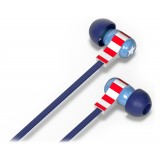 Tribe - Captain America - Marvel - Earphones with Microphone and Multifunctional Command - Smartphone