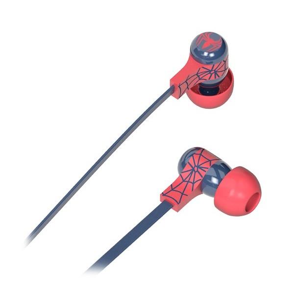 Tribe - Spider Man - Marvel - Auricolari con Microfono e Comando Multifunzionale - Smartphone