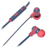 Tribe - Spider Man - Marvel - Earphones with Microphone and Multifunctional Command - Smartphone