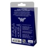 Tribe - Wonder Woman - DC Comics - Auricolari con Microfono e Comando Multifunzionale - Smartphone