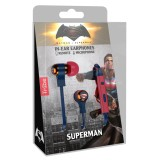 Tribe - Superman - DC Comics - Earphones with Microphone and Multifunctional Command - Smartphone