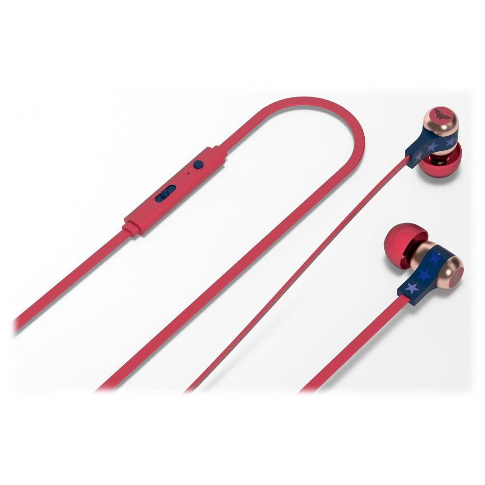 Tribe - Wonder Woman - DC Comics - Earphones with Microphone