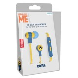 Tribe - Carl - Minions - Despicable Me - Earphones with Microphone and Multifunctional Command - Smartphone