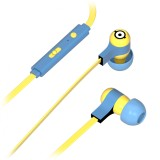 Tribe - Carl - Minions - Cattivissimo Me - Auricolari con Microfono e Comando Multifunzionale - Smartphone