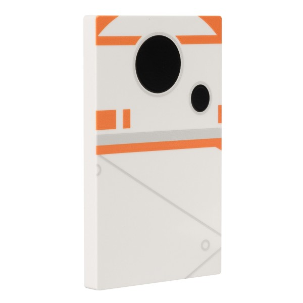 Tribe - BB-8 - Star Wars - Episodio VII - Batteria Portatile USB - Power Bank - 4000 mAh - iPhone, iPad, Tablet, Smartphone