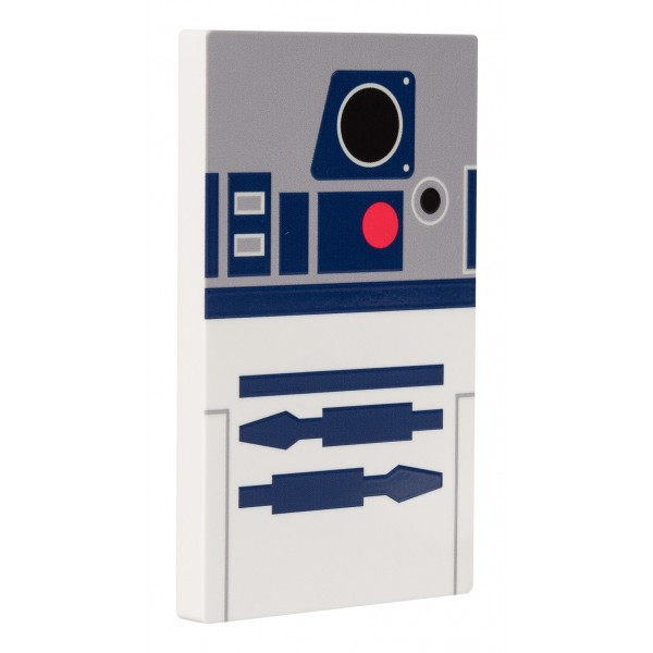 Tribe - R2-D2 - Star Wars - Caricabatteria Portatile USB - Power Bank - 4000 mAh - iPhone, iPad, Tablet, Smartphone
