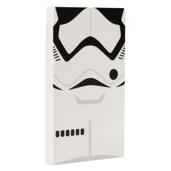 Tribe - Storm Troopers - Star Wars - Caricabatteria Portatile USB - Power Bank - 4000 mAh - iPhone, iPad, Tablet, Smartphone