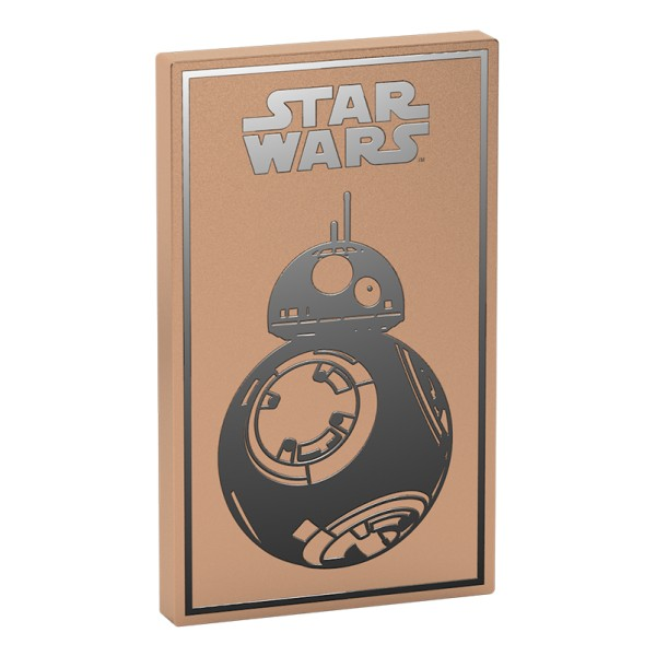Tribe - BB-8 Gold - Star Wars - Episode VII - USB Portable Charger - Power Bank - 4000 mAh - iPhone, iPad, Tablet, Smartphone