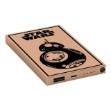 Tribe - BB-8 Gold - Star Wars - Episodio VII - Batteria Portatile USB - Power Bank - 4000 mAh - iPhone, iPad, Tablet, Smartphone