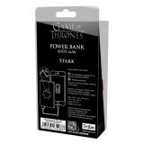 Tribe - Stark - Trono di Spade - Caricabatteria Portatile USB - Power Bank - 4000 mAh - iPhone, iPad, Tablet, Smartphone