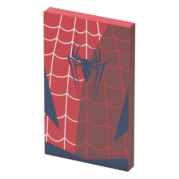 Tribe - Spider-Man - Marvel - Caricabatteria Portatile USB - Power Bank - 4000 mAh - iPhone, iPad, Tablet, Smartphone