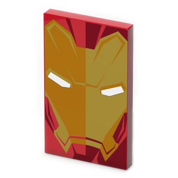 Tribe - Iron Man - Marvel - USB Portable Charger - Power Bank - 4000 mAh - iPhone, iPad, Tablet, Smartphone