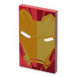 Tribe - Iron Man - Marvel - Caricabatteria Portatile USB - Power Bank - 4000 mAh - iPhone, iPad, Tablet, Smartphone