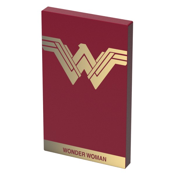 Tribe - Wonder Woman - DC Comics - Caricabatteria Portatile USB - Power Bank - 4000 mAh - iPhone, iPad, Tablet, Smartphone