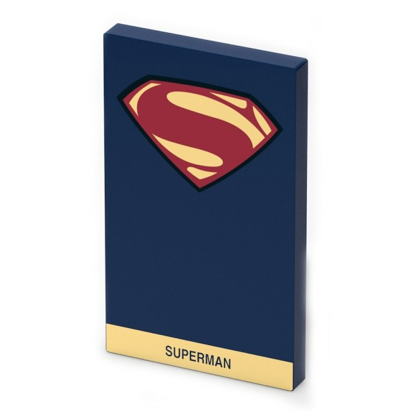 Tribe - Superman - DC Comics - Caricabatteria Portatile USB - Power Bank - 4000 mAh - iPhone, iPad, Tablet, Smartphone