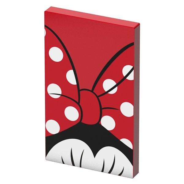 Tribe - Topolina - Disney - Caricabatteria Portatile USB - Power Bank - 4000 mAh - iPhone, iPad, Tablet, Smartphone