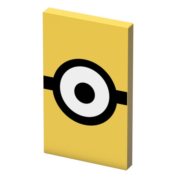 Tribe - Carl - Minions - Cattivissimo Me - Batteria Portatile USB - Power Bank - 4000 mAh - iPhone, iPad, Tablet, Smartphone