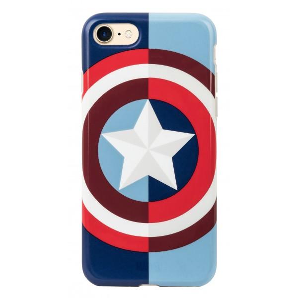 Tribe - Captain America - Marvel - Cover iPhone 6 / 6s - Custodia Smartphone - TPU - Protezione Lati e Posteriore