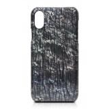 Ammoment - Struzzo in Perla di Taiti - Cover in Pelle - iPhone X