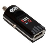 Tribe - Darth Vader - Star Wars - Caricatore da Auto - Fast Car Charger - Caricatore USB - iPhone, iPad, Tablet, Samsung