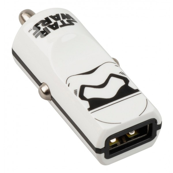 Tribe - Storm Troopers - Star Wars - Caricatore da Auto - Fast Car Charger - Caricatore USB - iPhone, iPad, Tablet, Samsung
