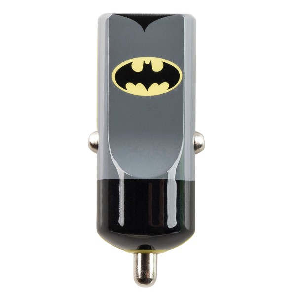 Tribe - Batman - Cavaliere Oscuro - DC Comics - Caricatore da Auto - Fast Car Charger - Caricatore USB - iPhone, iPad, Samsung