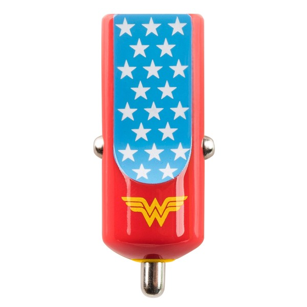 Tribe - Wonder Woman - Universe - DC Comics - Caricatore da Auto - Fast Car Charger - Caricatore USB - iPhone iPad Samsung