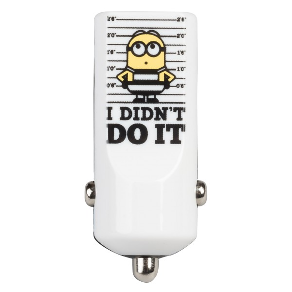 Tribe - Dave - Jail Time - Minions - Car Charger - Fast Car Charge - USB Charger - iPhone, iPad, Tablet, Samsung, Smartphone
