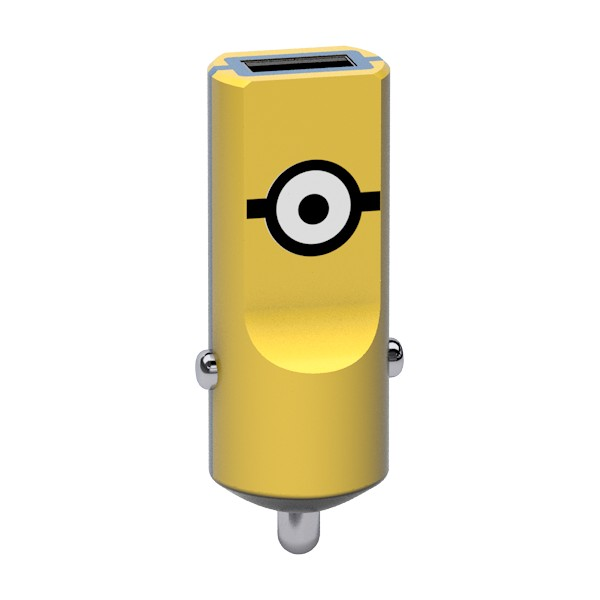 Tribe - Carl - Minions - Car Charger - Fast Car Charge - USB Charger - iPhone, iPad, Tablet, Samsung, Smartphone