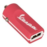 Tribe - Berry - Vespa - Caricatore da Auto - Fast Car Charger - Caricatore USB - iPhone, iPad, Tablet, Samsung, Smartphone
