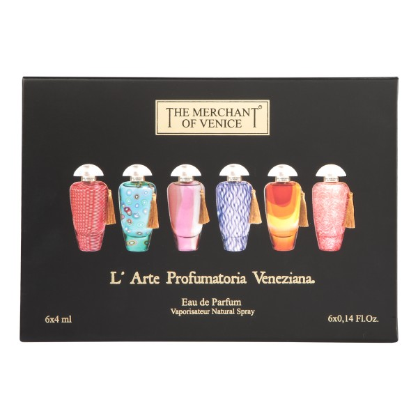 The Merchant of Venice - Trial Kit - Murano Collection - Profumo Luxury Veneziano