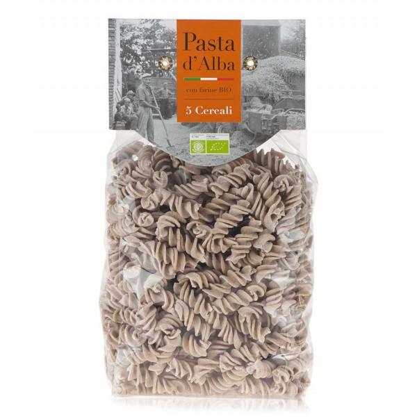 Pasta d'Alba - Organic Fusilli with Five Organic Grains - Artisan Line - Artisan Organic Italian Pasta