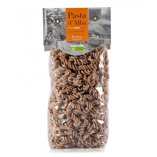 Pasta d'Alba - Organic Fusilli with Whole Wheat Flour - Artisan Line - Artisan Organic Italian Pasta